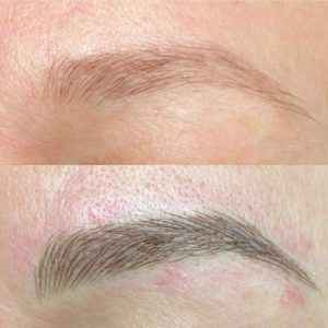 Татуаж и цвет бровей : оптимальные сочетания перманентного макияжа.