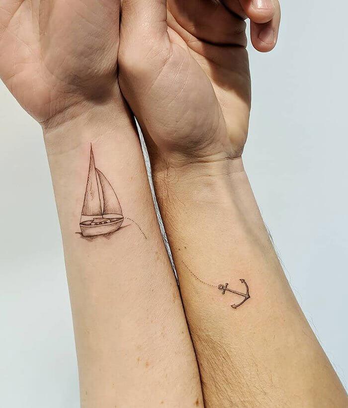 совместные тату для пары