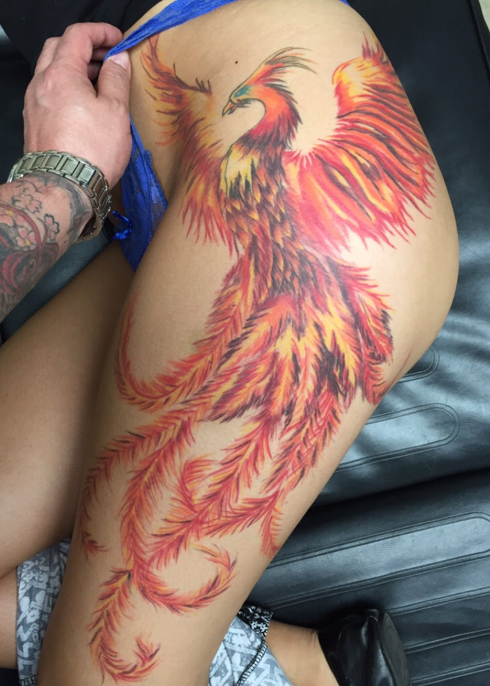 Тату феникс, как легко выбрать «свою» татуировку