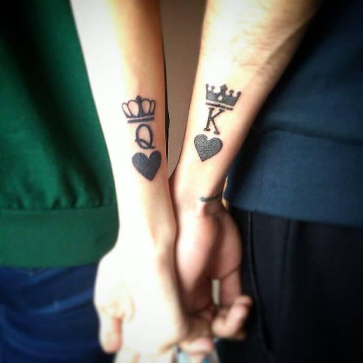 парные тату для пары
