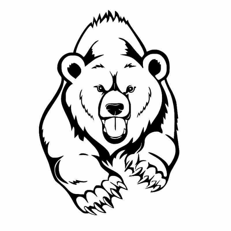 возникает медведь тату картинки рисунки спортсмены получили четырехлетнюю