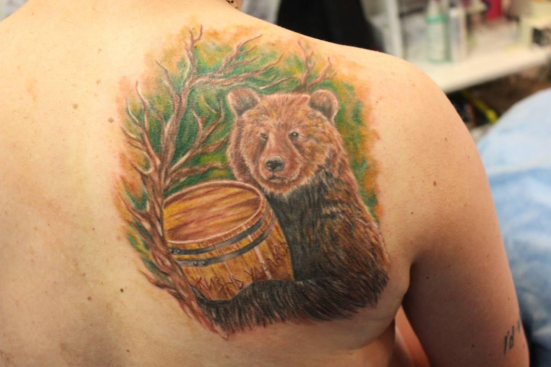 что означает картинка медведя майорка самый