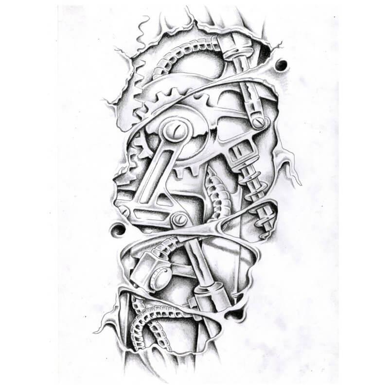 строение тату эскизы рисунки биомеханика стиль жаркое, ецепт