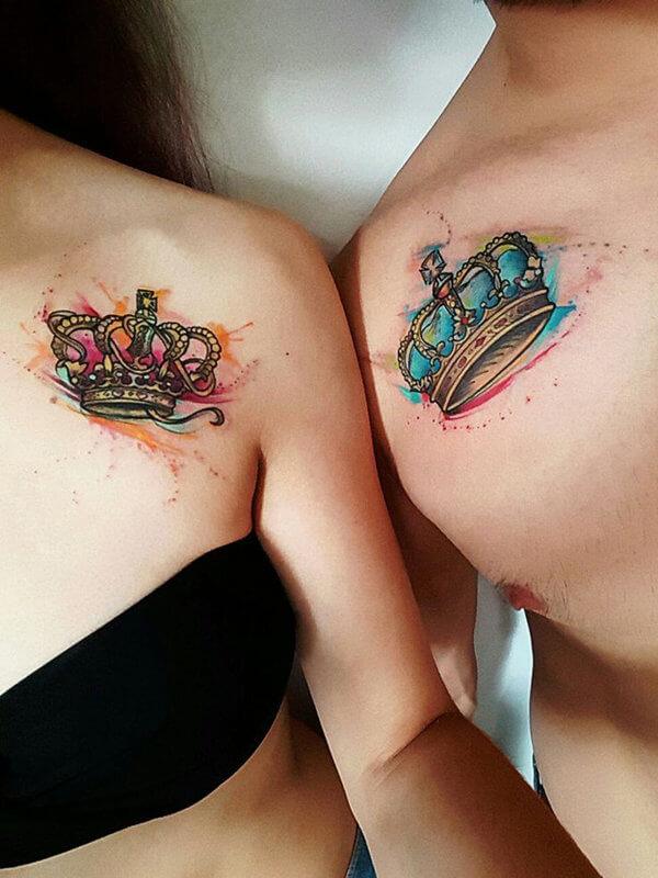 совместные татуировки для пары