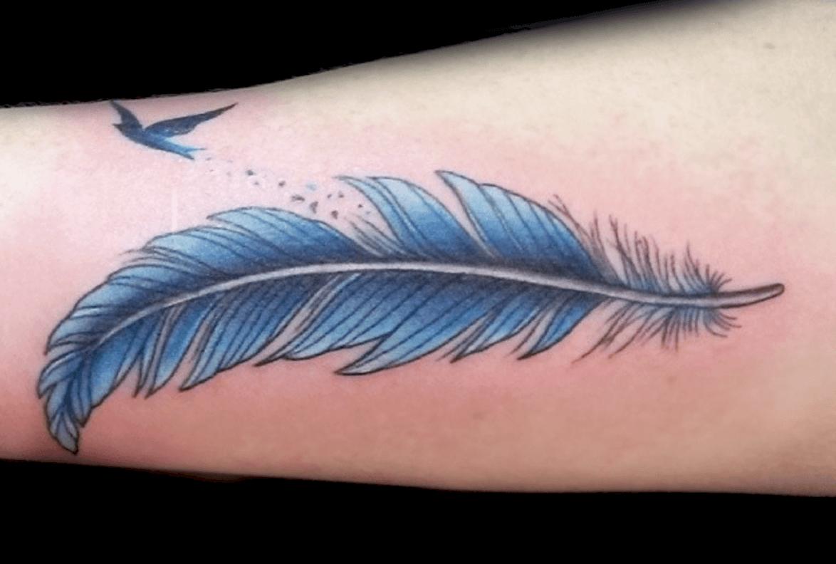 фото татуировок перо глисты паразиты
