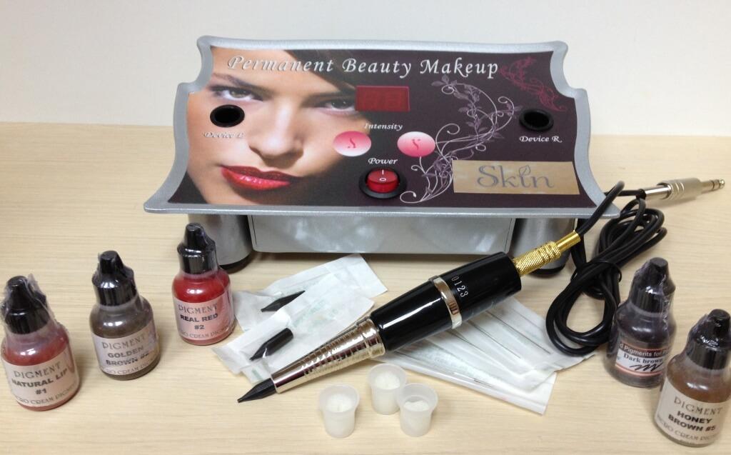 Инструменты для перманентного макияжа